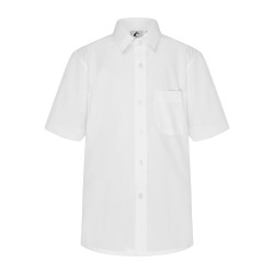 Short Sleeve Shirt with Button Up Collar