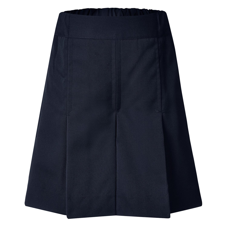 Rose Box Pleat Gaberdine Shorts
