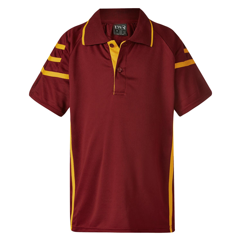 Akhurst Tri-Stripe Sports Polo