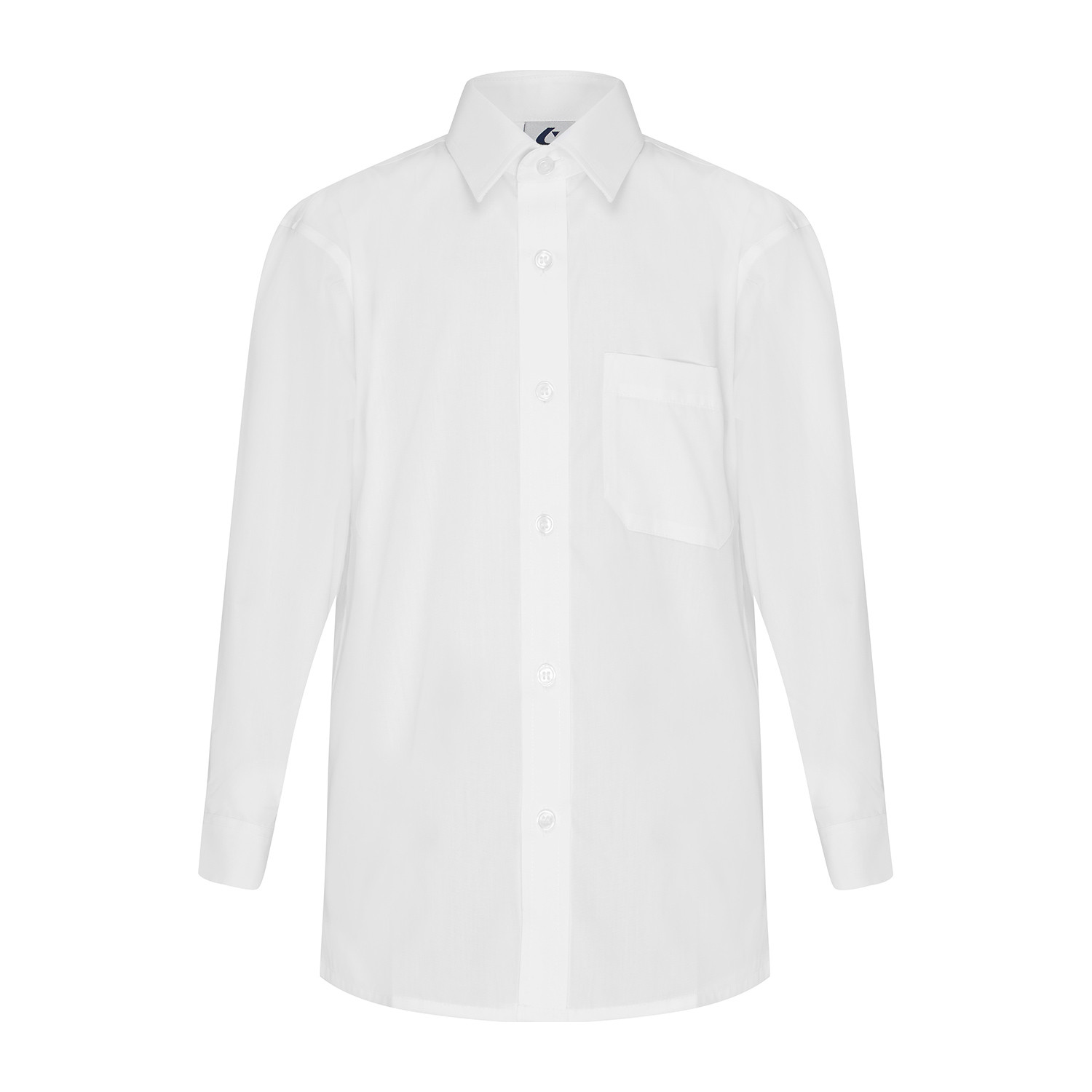 Long Sleeve Shirt with Button Up Collar