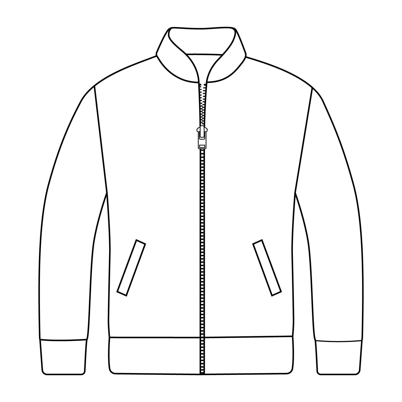 Baseball Jacket with Zip Front