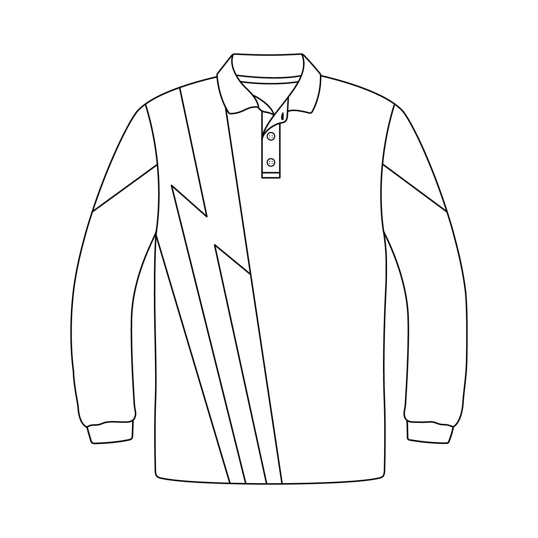 Fancy Long Sleeve Polo