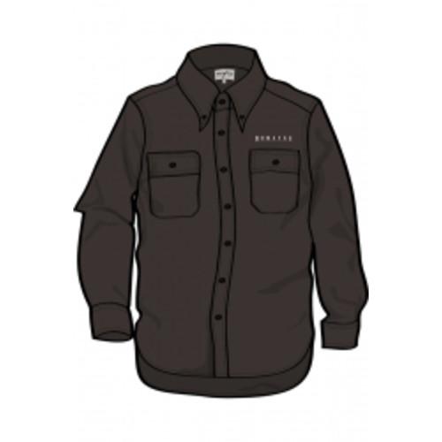 Men's Long Sleeve Black Shirt