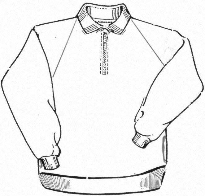 Fleecy Half Zip SShirt