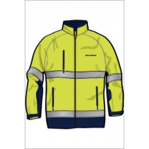 Hi-Vis D/N Soft Shell Jacket