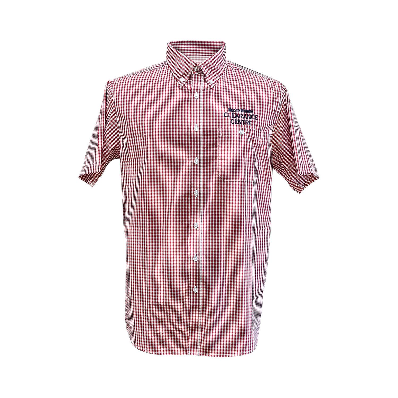 Hudson Check Shirt Mens SS