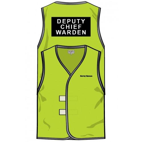 Deputy Chief Warden Hi Vis Vest