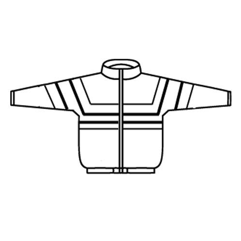 Gathered Hip Length Sport Jacket