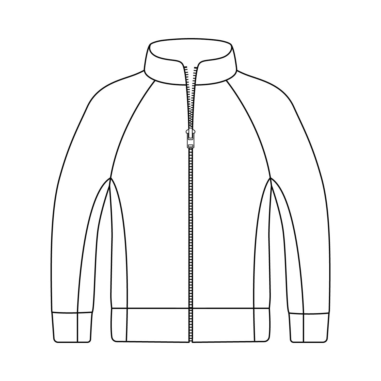 Loose Hip Length Sport Jacket