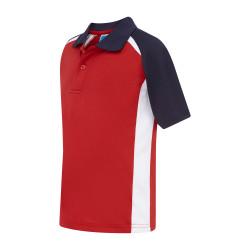 Poidevin Raglan Sports Polo