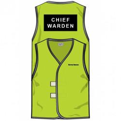 Chief Warden Hi Vis Vest